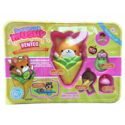 Smooshy Mushy Bentos - Sassy Fussy Fox