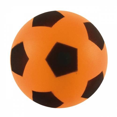 Sponge / Foam Football 17.5cm Approx size 4 - Orange