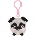Squeezamals Series 2 Clip on Plush - Grey Pug