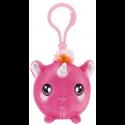 Squeezamals Series 2 Clip on Plush - Pink Unicorn