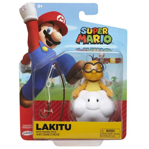 Super Mario 4 Inch Figures - Lakitu