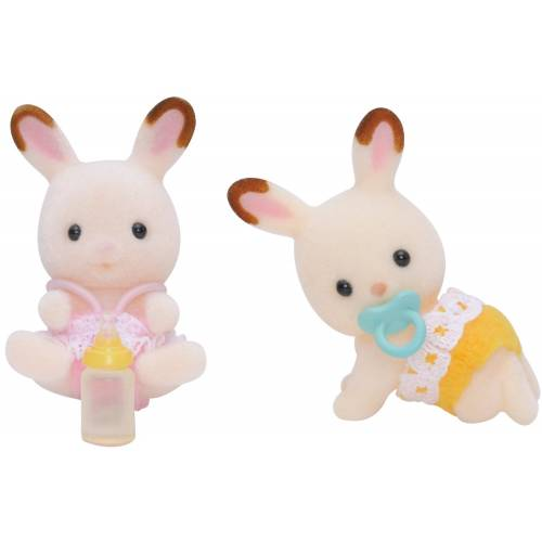 Sylvanian Families Chocolate Rabbit Twins