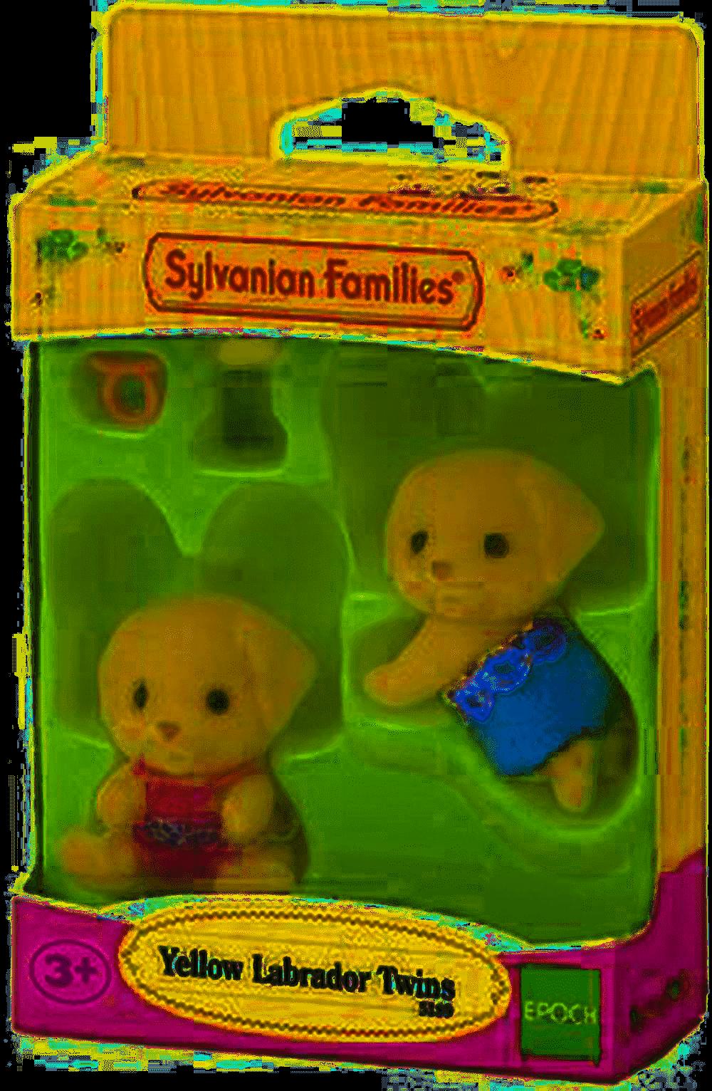Brand New Yellow Labrador Twins Sylvanian Families