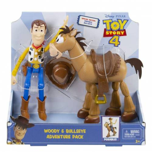 Toy Story 4 Woody & Bullseye Adventure Pack