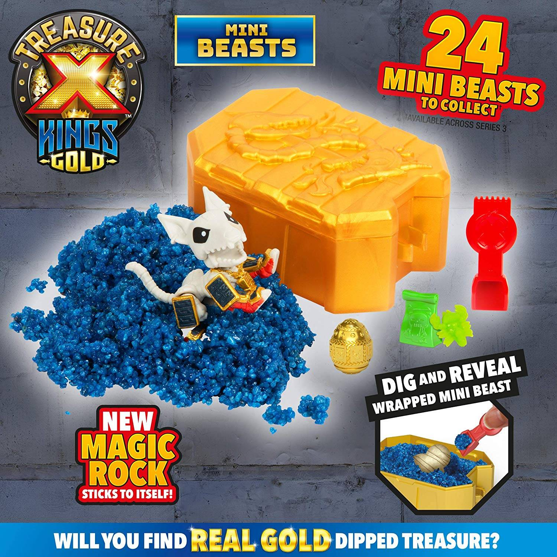 Treasure X Kings Gold - Mini Beasts | Toys n Tuck