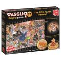 Wasgij? Original 27 1000pc Jigsaw Puzzle The 20th Party Parade (INCLUDES FREE 1000pc PUZZLE)